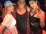 Ex-BBB Antonio elogia Vivian, ex-namorada do irmão, no Rock in Rio: 'Campeã'