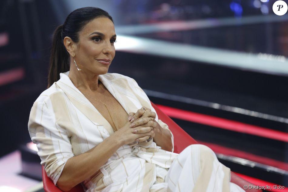 Ivete Sangalo nega ter pedido afastamento dos fãs na gravidez em coletiva da Salvador Fest, no último domingo, dia 24 de setembro de 2017