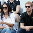 Príncipe Harry e Meghan Markle  distribuíram simpatia  em partida do Invictus Games, em Toronto