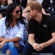 Príncipe Harry e Meghan Markle surgiram em clima de romance durante partida do Invictus Games, em Toronto, nesta segunda-feira, 25 de setembro de 2017