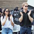 Príncipe Harry e Meghan Markle fizeram a primeira aparição pública juntos nesta segunda-feira, 25 de setembro de 2017