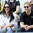 Príncipe Harry e Meghan conferiram jogo de tênis em competição no Canadá nesta segunda-feira, 25 de setembro de 2017
