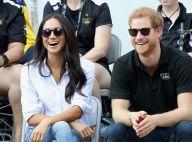 Príncipe Harry e Megan Markle fazem aparição oficial em evento esportivo. Fotos!