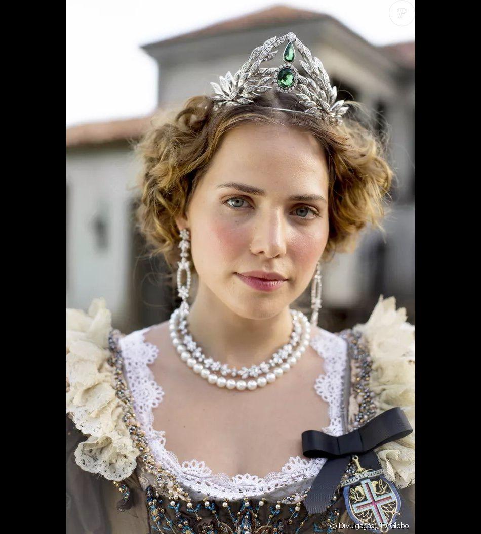 A princesa Leopoldina (Leticia Colin) foi um grande destaque da novela  'Novo Mundo' - Purepeople