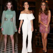 Veja os looks de Sophia Abrahão, Emilly Araújo e mais famosas em prêmio. Fotos!