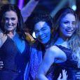 Finalistas do 'Dancing Brasil', Suzana Alves, Yudi e Lexa se divertem nos bastidores da atração