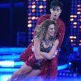 Yudi Tamashiro e a bailarina  Bárbara Guerra se apresentam na final do  'Dancing Brasil'