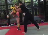 Patricia Abravanel treina boxe aos 6 meses de gravidez: 'Temos pique'. Vídeo!