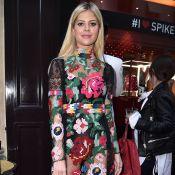 Lala Rudge estreia na Semana de Moda de Paris com vestido floral. Veja look!