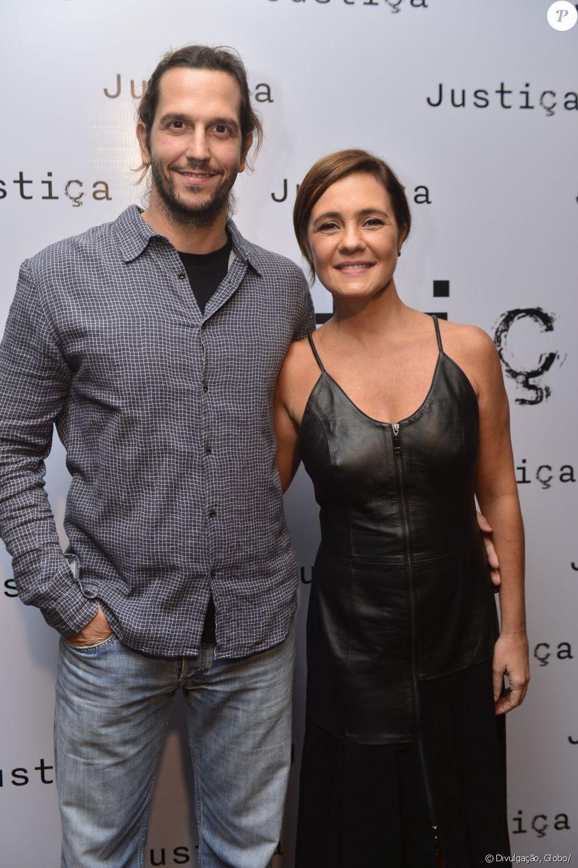 Adriana Esteves celebra indicação ao Emmy com Vladimir Brichta nesta quarta-feira, dia 27 de setembro de 2017