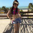 Sophia Valverde viajou para o Ceará para gravar cenas da novela 'As Aventuras de Poliana'