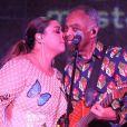 Estreia de Preta e o pai, Gilberto Gil, no Cristo Redentor foi em um show para convidados famosos e familiares