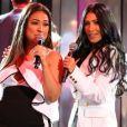 Simone e Simaria rebolam ao som de 'Sua Cara' e levam fãs à loucura em show