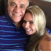 Namorada de Marcelo Rezende comprova proibição de visitá-lo no hospital. Entenda
