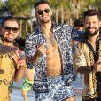 Xand festeja música com Lucas Lucco e Denis DJ, 'Se Organizar Todo Mundo Pega'
