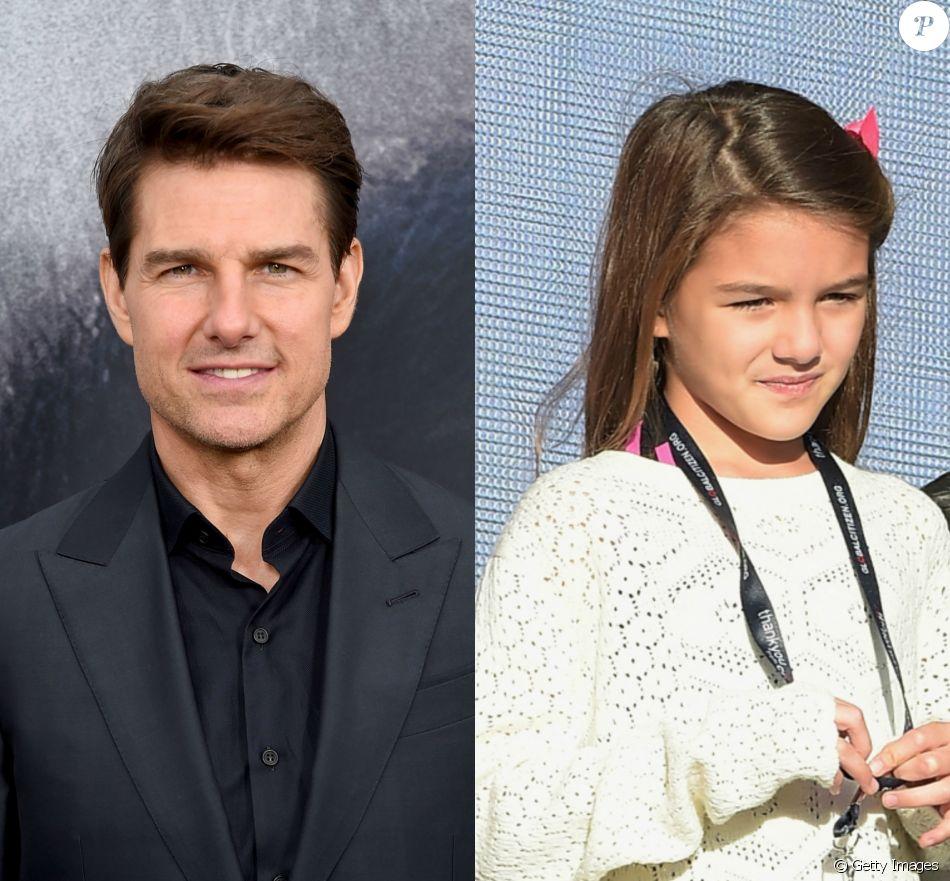 Tom Cruise não tem contato com a filha, Suri, de 11 anos, há quatro anos
