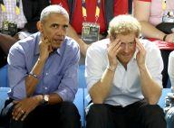 Barack Obama e Príncipe Harry fazem caras e bocas assistindo jogo juntos. Fotos!