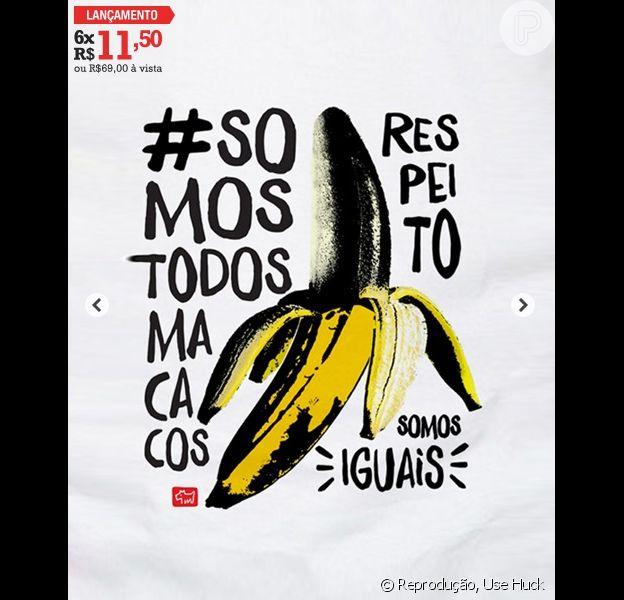 Luciano Huck se defendeu, nesta quarta-feira, 30 de abril de 2014, em seu facebook, após ser criticado por comercializar camisas com o nome do movimento 'Somos Todos Macacos', em sua grife pessoal, a Use HUck