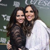 Grávida, Ivete Sangalo rebola no palco com Viviane Araújo: 'Isso é que é mulher'