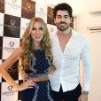 Ex-BBBs Adriana Sant'Anna e Rodrigão anunciaram a nova gravidez em agosto deste ano