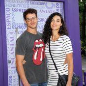 José Loreto e Débora Nascimento curtem aniversário da filha de Rafael Cardoso
