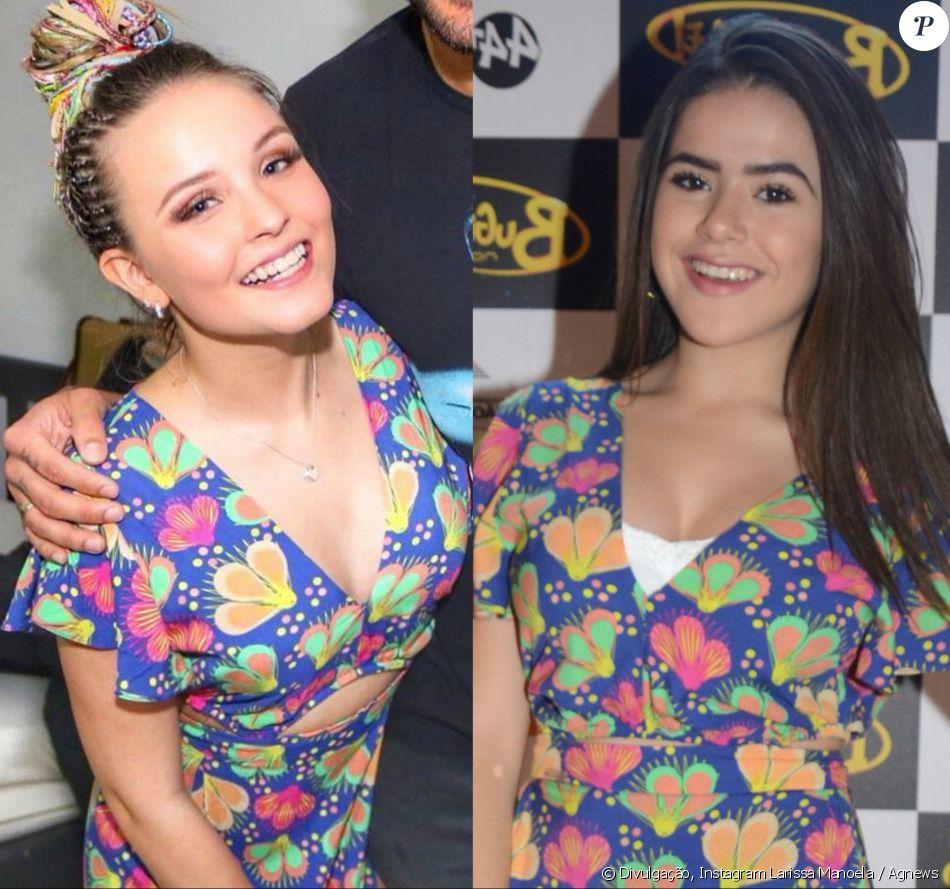 d65575949b212 Larissa Manoela repetiu look usado por Maisa Silva em viagem a Porto  Seguro, em setembro