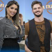 'A Fazenda': Marcos Harter e Flavia Viana discutem ao vivo. 'Falou, eu respondo'