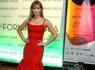 Mariana Ximenes aposta em vestido de pelos para festival: 'Não esquenta muito'