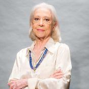 Fernanda Montenegro assume cabelos brancos para novela: 'Vantagem da velhice'