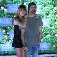 Alinne Moraes e o marido, Mauro, marcaram presença no Festival do Rio na noite de sexta-feira, 7 de outubro de 2017