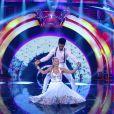 Adriane Galisteu caiu durante a coreografia do funk no 'Dança'