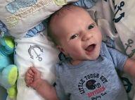 Maíra Charken mostra rosto do filho em foto divertida: 'Libriano charmoso'