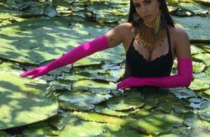 Anitta entra em rio da Amazônia durante gravação de novo clipe 'Is That For Me'