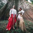 'Eu e Alesso, da Floresta Amazônica para o mundo... 'Is that for me' está chegando!', anunciou Anitta por meio de seu Instagram nesta terça-feira, dia 10 de outubro de 2017