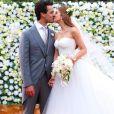 Marina Ruy Barbosa e Xandinho Negrão se casaram em Campinas, no sábado, 7 de outubro de 2017