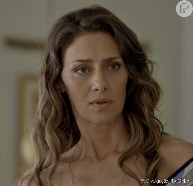 Na penúltima semana da novela 'A Força do Querer', Joyce (Maria Fernanda Cândido) dá adeus a Ivana (Carol Duarte) antes do filho retirar os seios em cirurgia