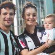 Sophie Charlotte e Daniel de Oliveira são pais de Otto, de 1 ano