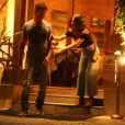 Isis Valverde vai jantar com namorado, André Resende, e se assusta ao deixar restaurante