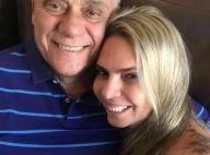 Luciana Lacerda lamenta um mês da morte de Marcelo Rezende: 'Saudades, amor'