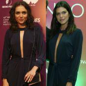 Quem vestiu melhor? Monica Iozzi repete macacão de Mariana Goldfarb em festival