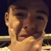 Thomaz Costa chora ao reencontrar o avô 16 horas após seu sumiço: 'Está bem!'