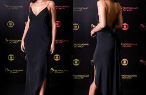 Bruna Marquezine alia sensualidade e elegância em pretinho nada básico. Fotos!