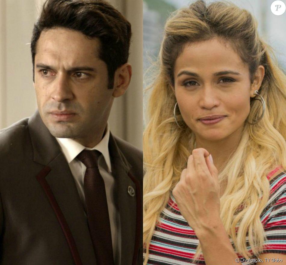 Na novela 'Pega Pega' Sandra Helena (Nanda Costa) paga a fiança de Agnaldo (João Baldasserini) e ele sai da cadeia no capítulo que vai ao no sábado, dia 28 de outubro de 2017