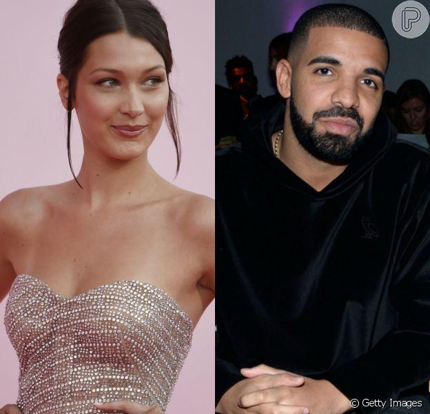 Bella Hadid e Drake estão namorando de junho de 2017, segundo fonte da revista Life & Style Weekly