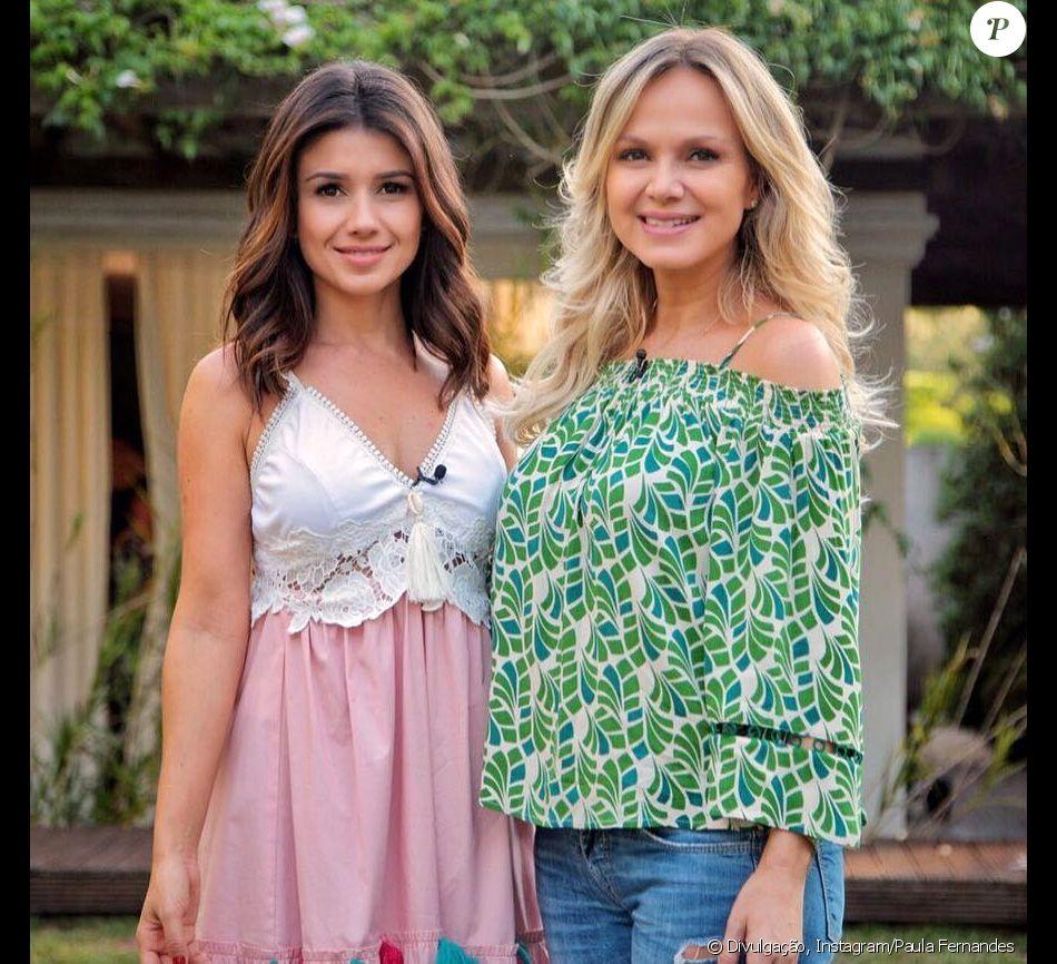 Eliana retoma trabalho com entrevista a Paula Fernandes nesta quinta-feira, dia 19 de outubro de 2017