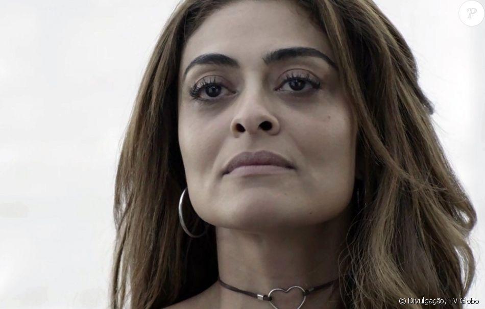 Juliana Paes falou, no 'Encontro com Fátima Bernardes', da torcida do público por Bibi: 'Tem capacidade de ter empatia pelo sofrimento do outro'