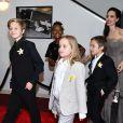 Shiloh, filha de Angelina Jolie e Brad Pitt, atualmente tem 11 anos