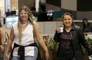 Marília Mendonça e Maiara, dupla de Maraisa, passeiam em shopping do Rio. Fotos!