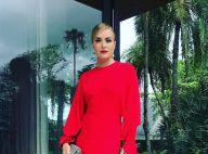 Angélica volta a usar look vermelho em casamento; stylist explica: 'Fica linda'