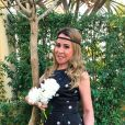 'Minha noiva', escreveu Marco Antonio Teles na foto ao lado da empresária